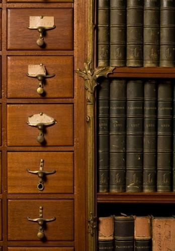 Maison Losseau meuble à fiches IRPA