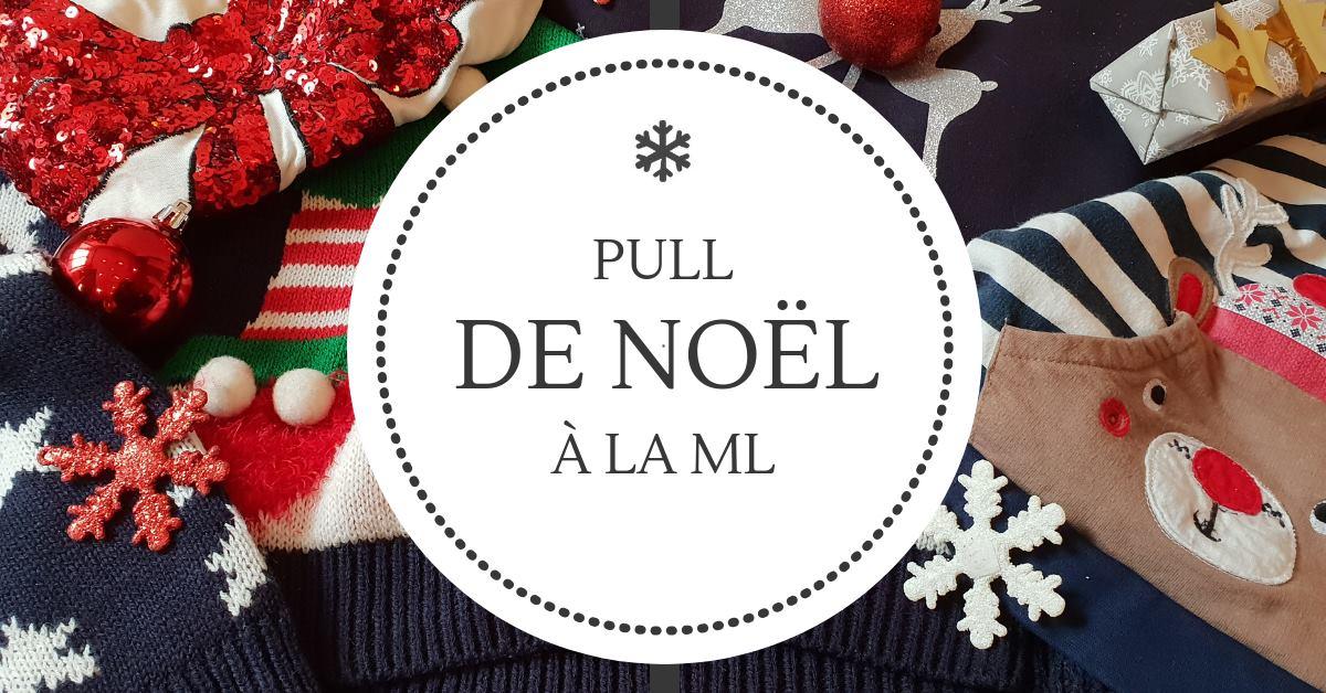 Bannière Pull de Noël 2018