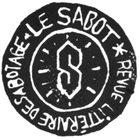 Logo Sabotage Le Sabot Revue Littéraire