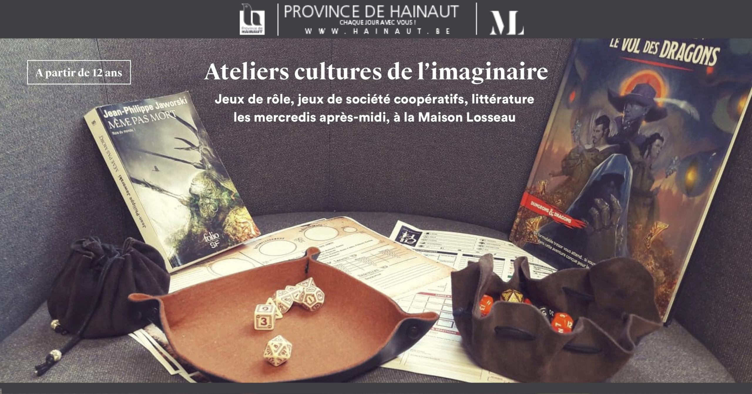 Ateliers culture de l'imaginaire Maison Losseau