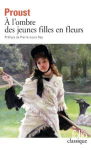 """Sur la table de nuit de Daniel Charneux, Marcel Proust, """"À l'ombre des jeunes filles en fleurs"""""""