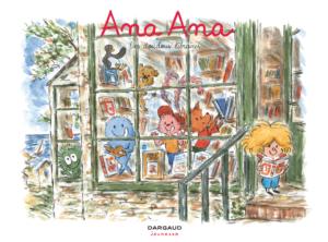 """Dominique Roques et Alexis Dormal, Ana Ana, t. 15, """"Les Doudous libraires"""", Dargaud, 2020"""