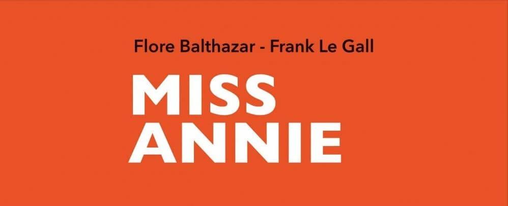 Première de couverture de la BD Miss Annie