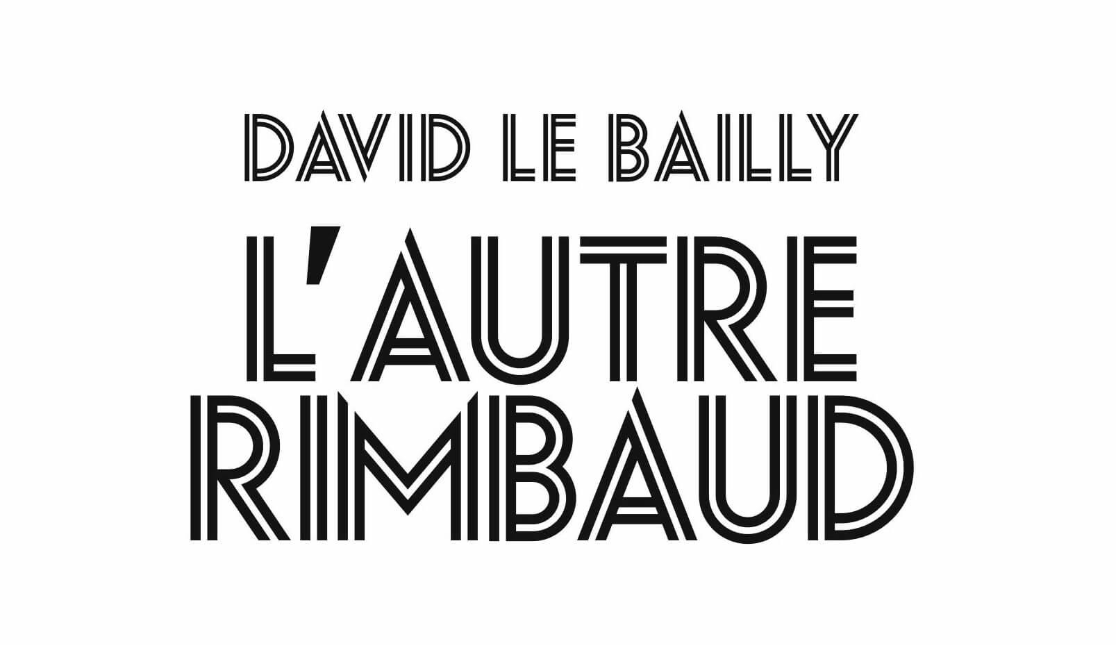 Partie de l'intérieur du livre de David Le Bailly sur le frère d'Arthur Rimbaud