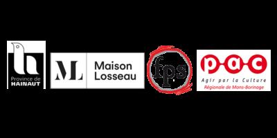 Logos partenaires Guinguette Littéraire 2021