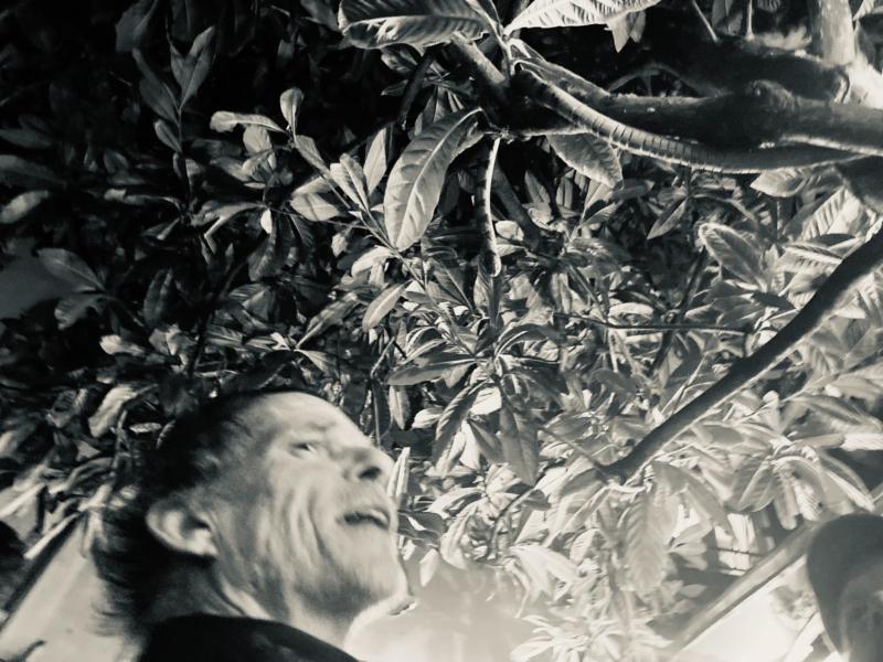 Copyright Photo : ©Guldem Durmaz. Denis Lavant à la Guinguette Littéraire