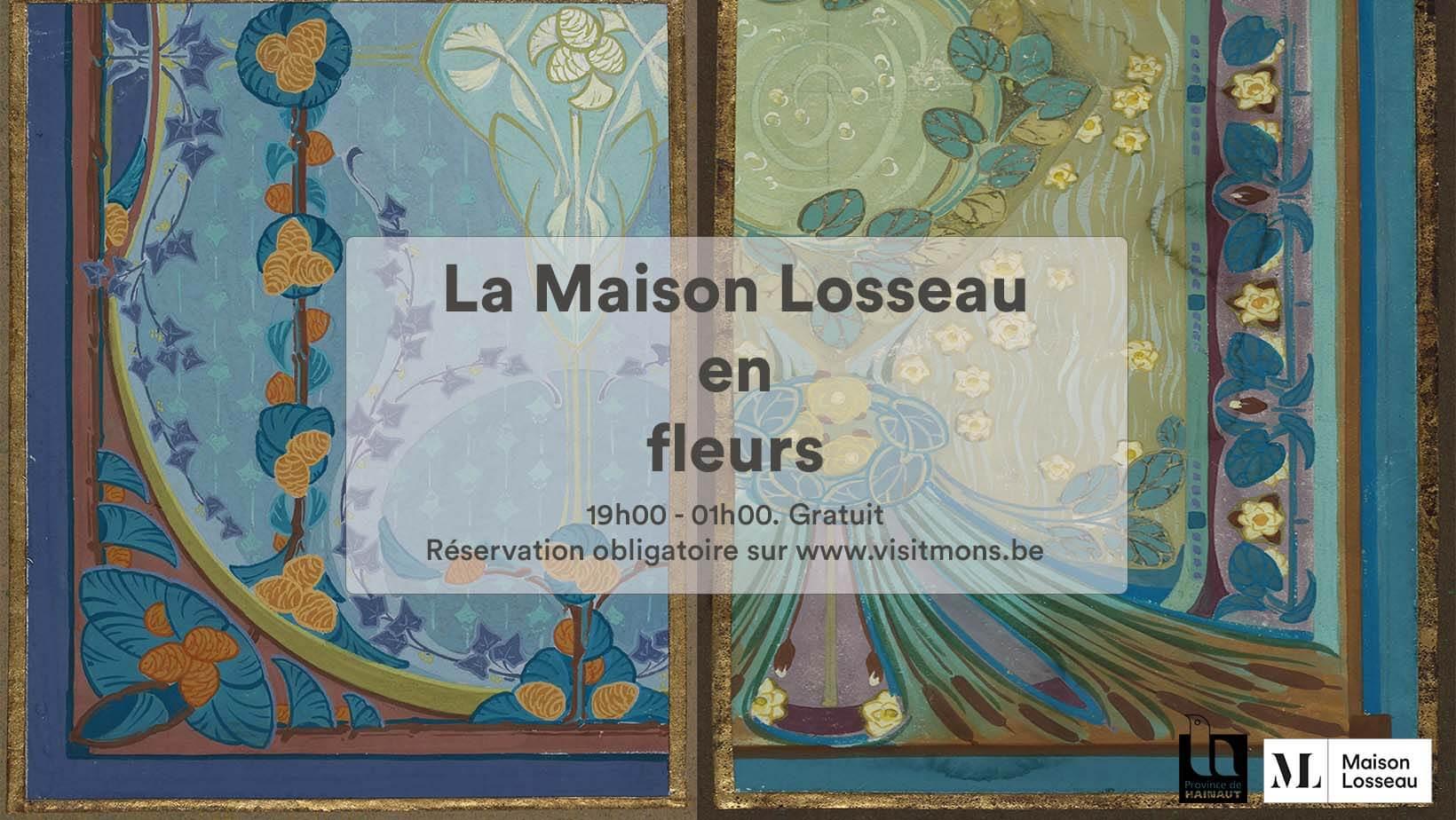 Visuel Nuit des musées 2021 à la Maison Losseau